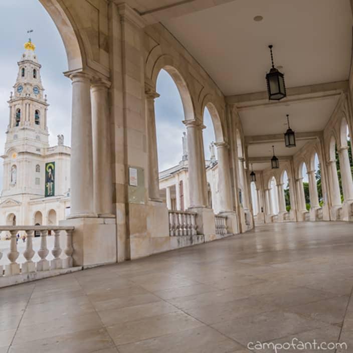 Blick auf Basilica Antiga