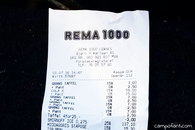 Preise in Norwegen