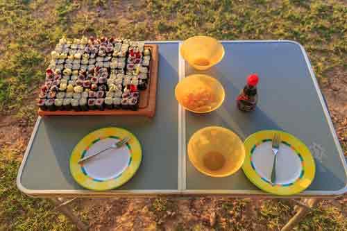 Campofant Wohnmobil Küche