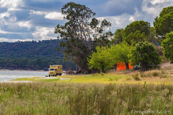 Strandcamping Montargil Stausee, Tierarztbesuch