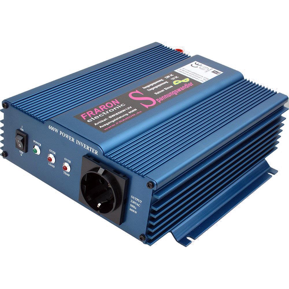 Wechselrichter 600 Watt reiner Sinus