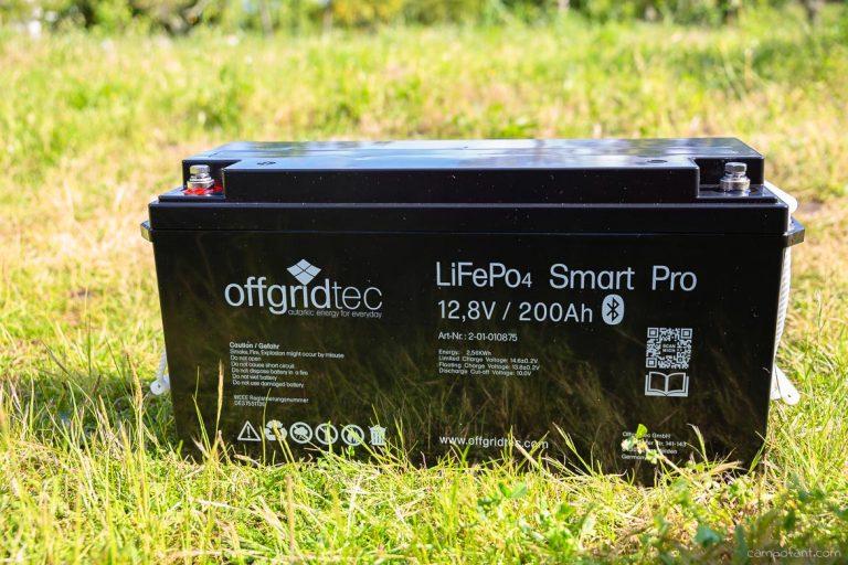 Batterie im Wohnmobil