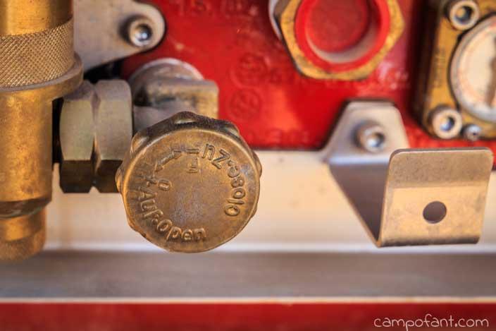 Gasprüfung, Wohnmobil, Absperrhahn