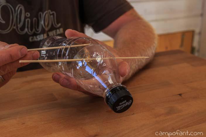 Spieße, Flasche