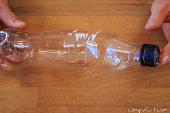 PET-Flasche, Mausefalle