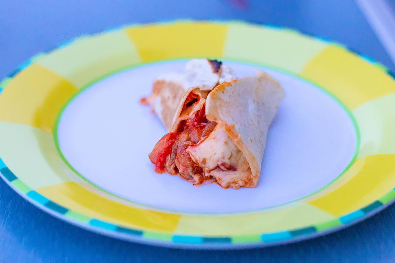 Omnia Rezept Pizza Wraps