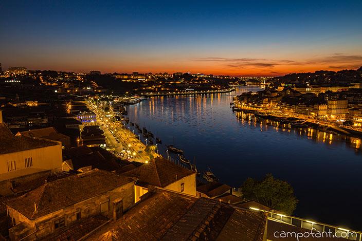 Porto, Sonnenuntergang, Ponte Dom Luis I