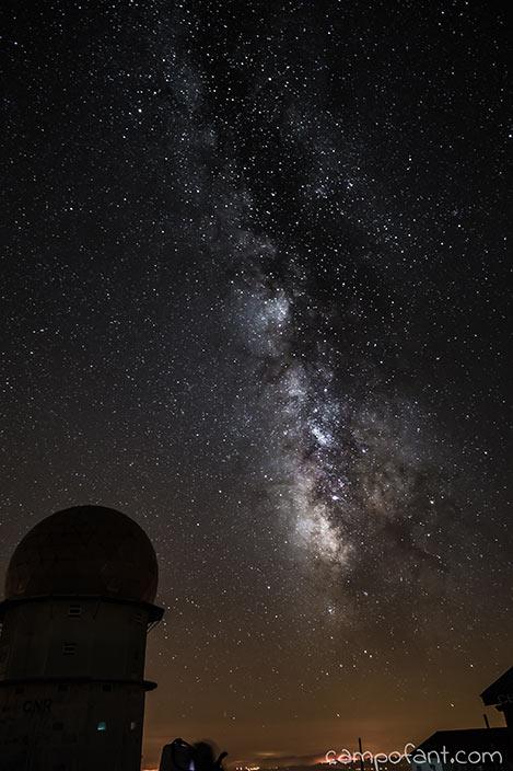 Serra da Estrela, Torre, Milchstraße fotografieren
