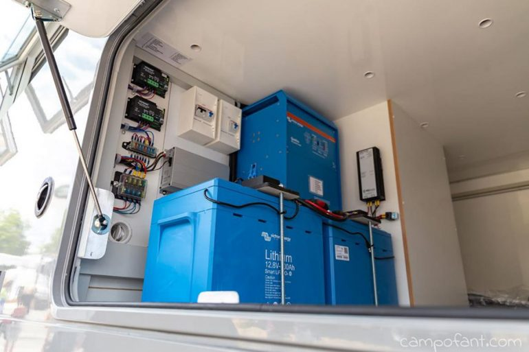 Wohnmobil Batterie, AGM, Gel, Blei-Säure, LiFePO4