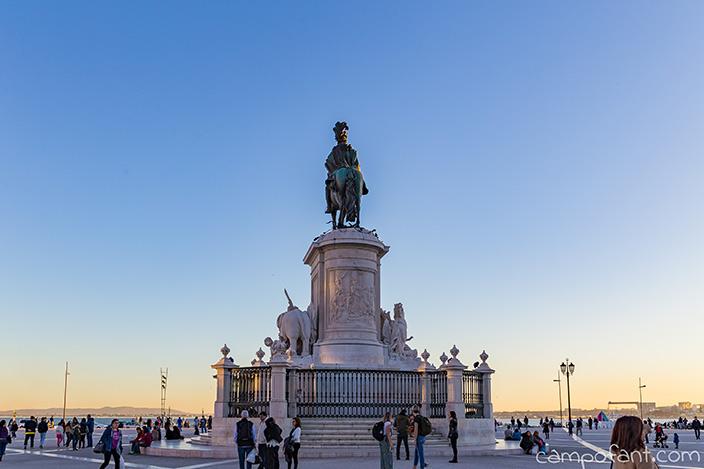 Comercio Square Lissabon