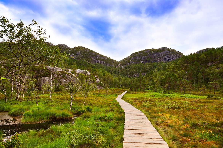 Wanderung Preikestolen, Stavanger, Kjerag