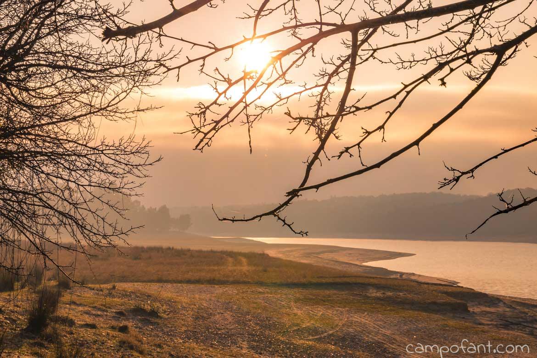 Montargil, Sonnenaufgang