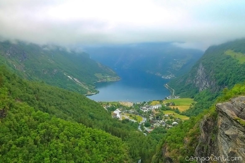 Norwegen Geirangerfjord