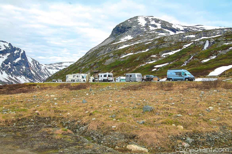 Norwegen Langvatnet