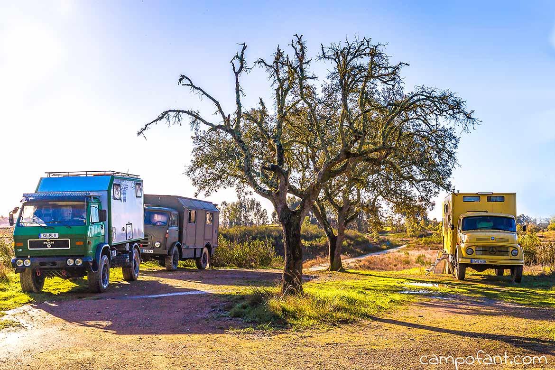 Portugal Wohnmobil Wildcamping frei stehen