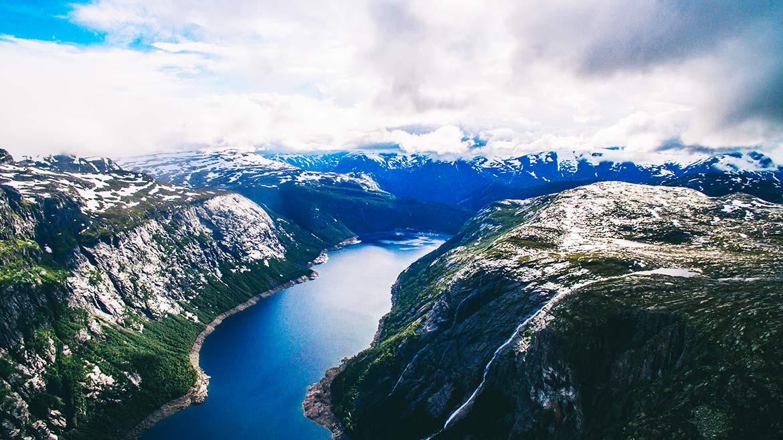 Trolltunga, Wanderung, Norwegen