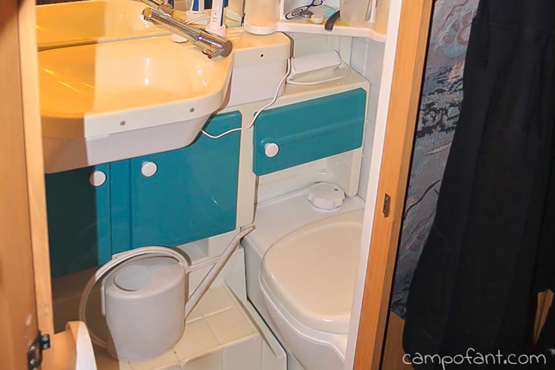 Chemietoilette sanitärflüssigkeit sog und co. campofant