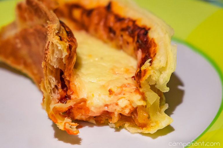 Omnia Rezept Blätterteig-Pizza