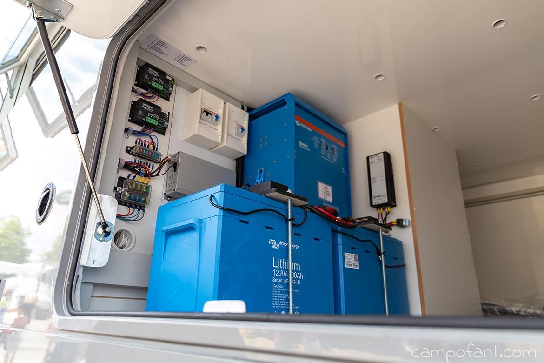 Wohnmobil Solaranlage