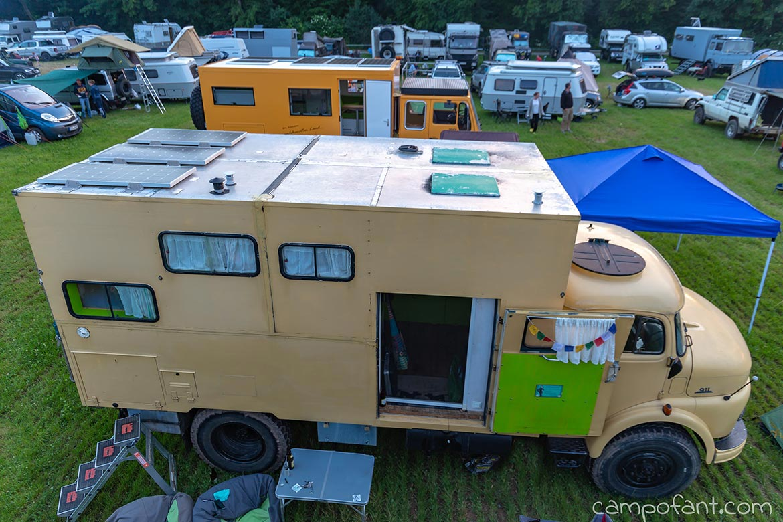Abenteuer Allrad 2018, Camp Area