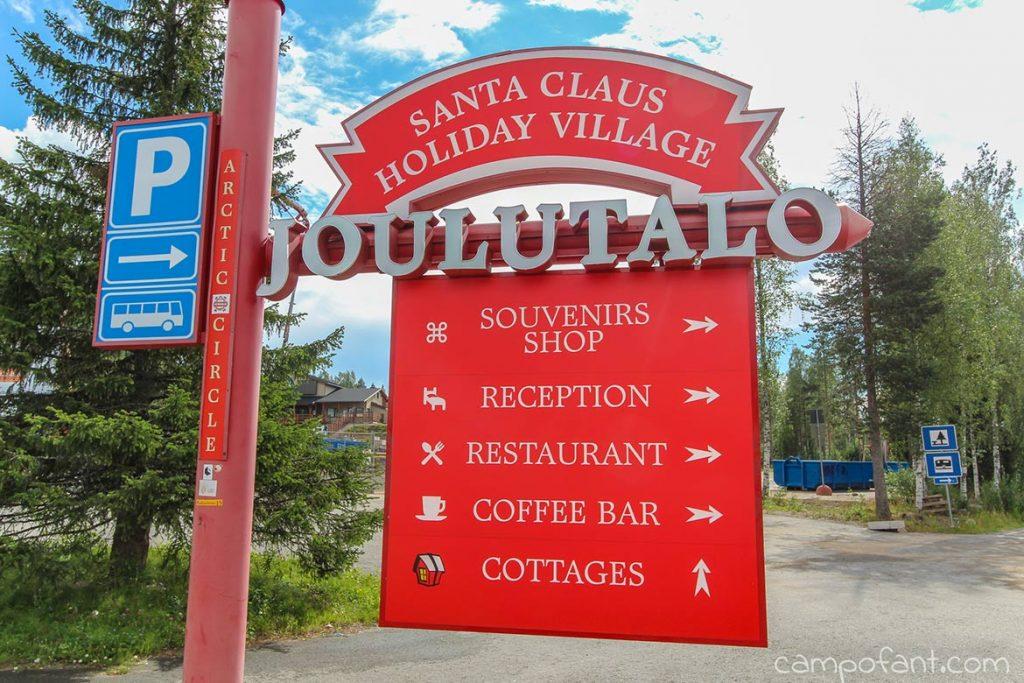 Santa Clause Village Rovaniemi, Kurztrip zum Weihnachtsmann