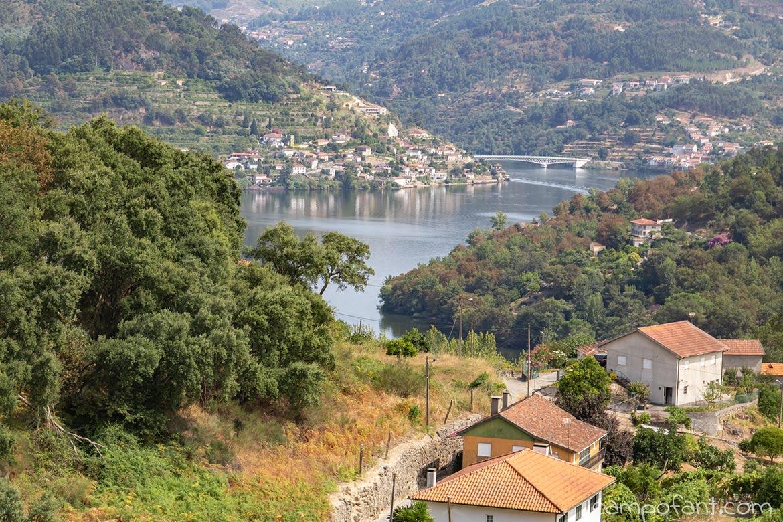 Blick über Douro