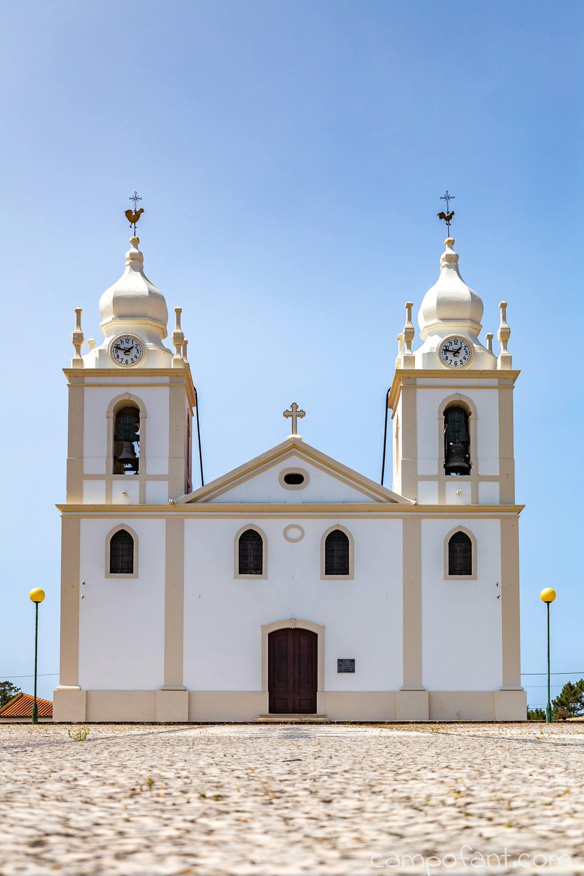 Kirche, Straße, Portugal