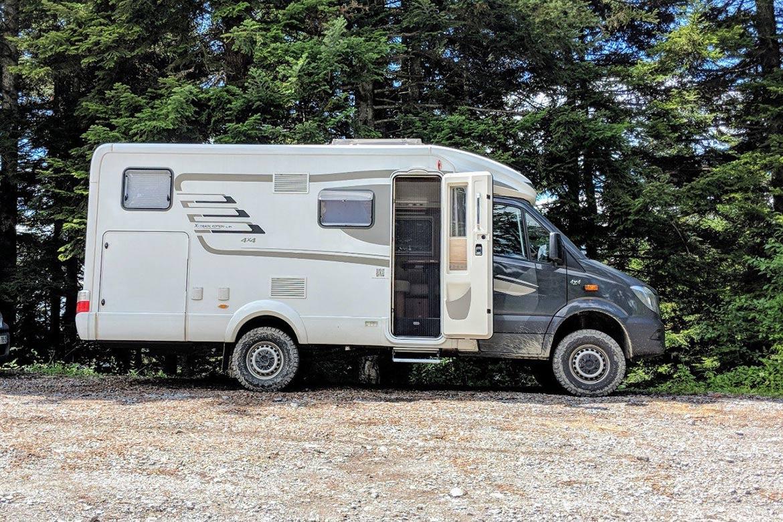 Offroad-Wohnmobil: Geländegängige 10x10 Camper - Campofant