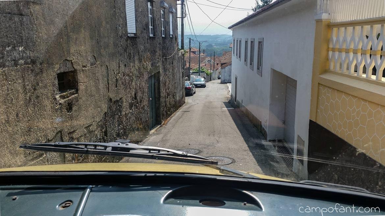 schmale Straßen Portugal