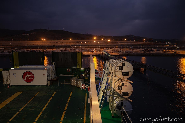 Fähre, Tanger Med