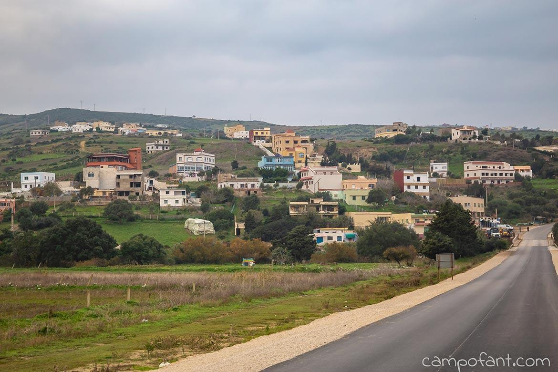 Marokko Landstraße
