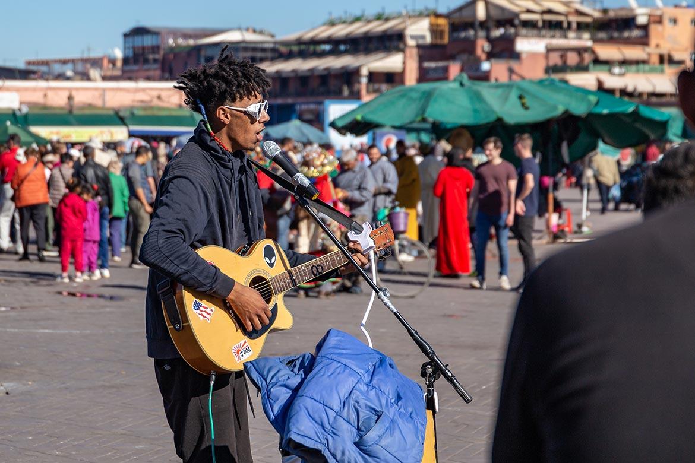 Sänger Marrakesch
