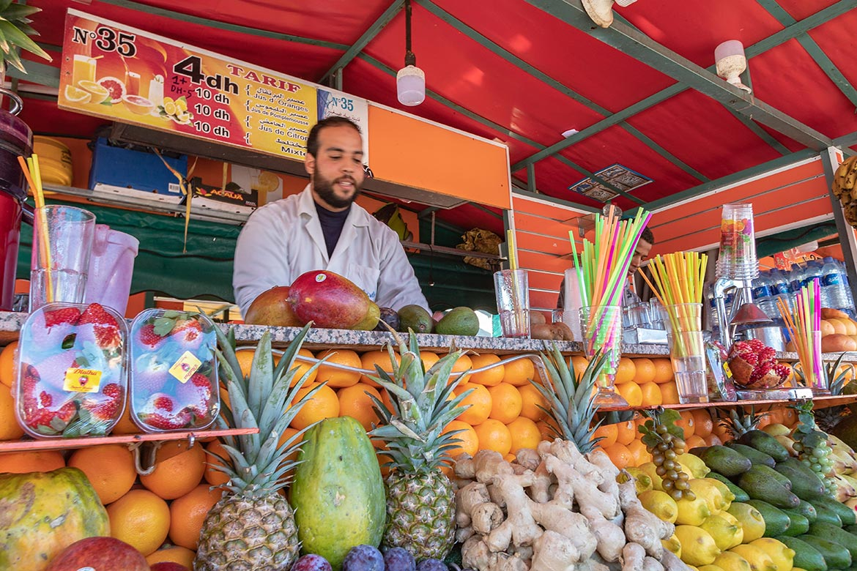 Saftbar Marrakesch