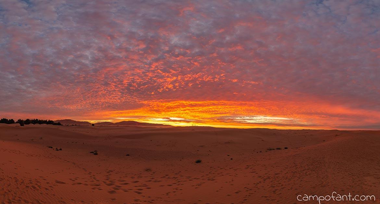 Sonnenuntergang Erg Chebbi