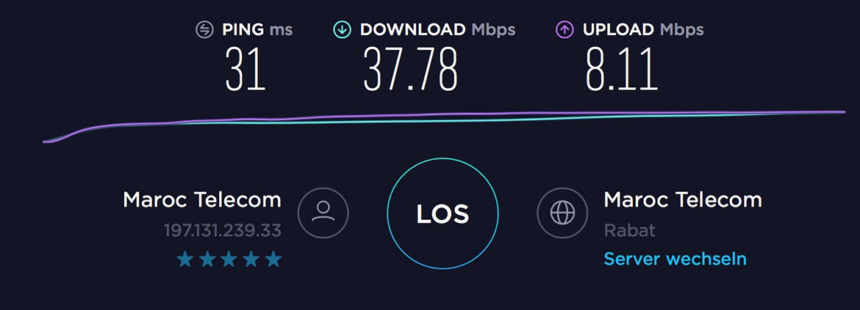 Internet Marokko