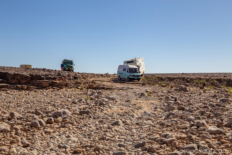 Oued Durchfahrt