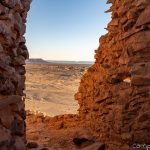 verlassene Stadt in der Wüste