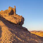 verlassene Stadt Sahara