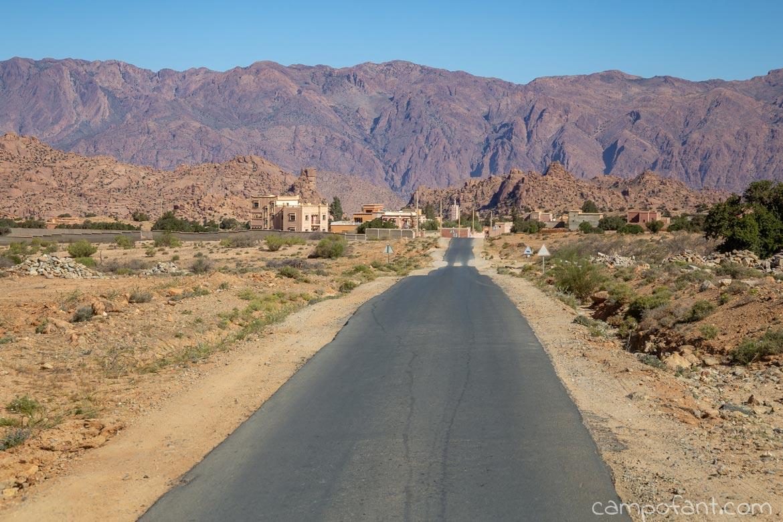 Weg nach Agadir