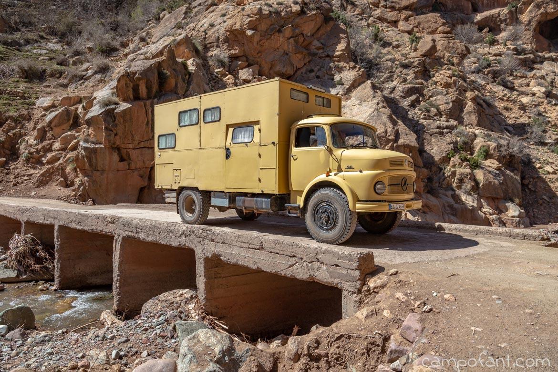 Brücke schmal Marokko