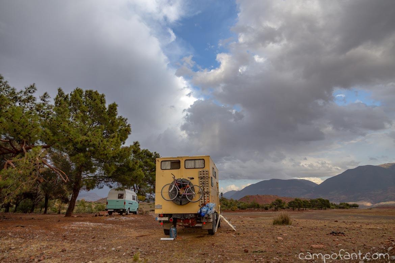 Camping Stausee Bin El Ouidane