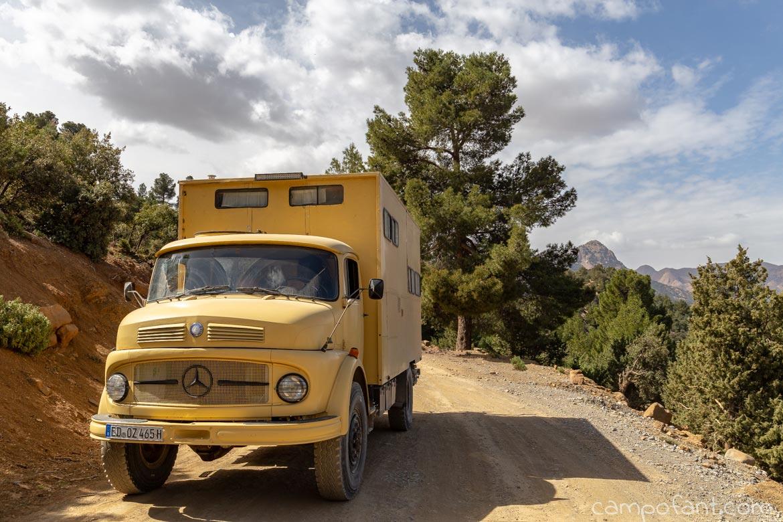 Offroad Tour Berge Atlas