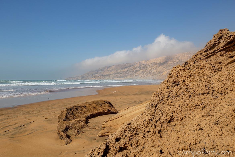 Strand Westküste Marokko