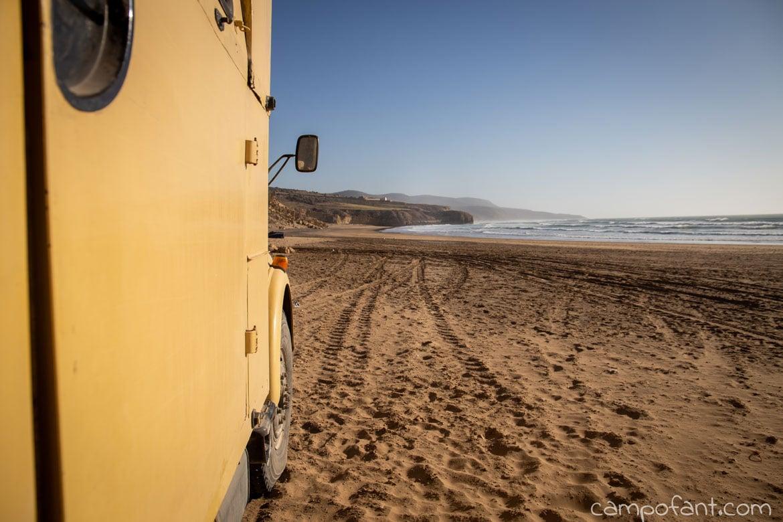 Sandstrand Marokko