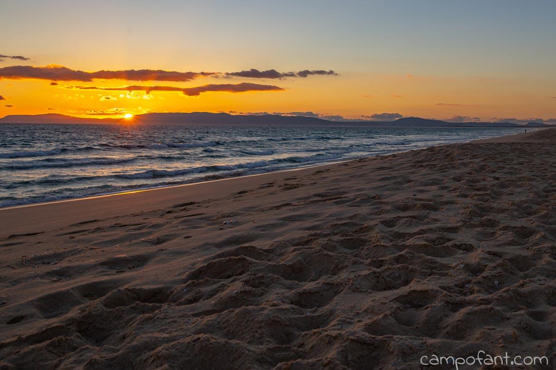 Comporta Strand Sonnenuntergang