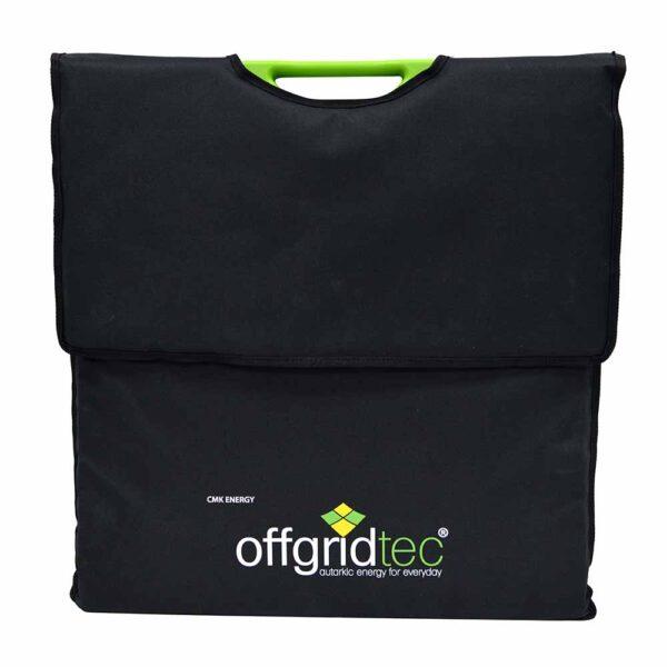 100 W Hardcover Solartasche geschlossen mit Tasche