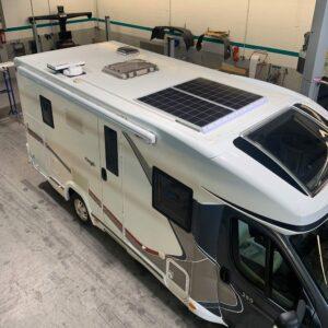 150 W Solarmodul Kundenbild