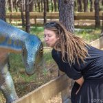 Dinopark Lourinha Dinosaurier