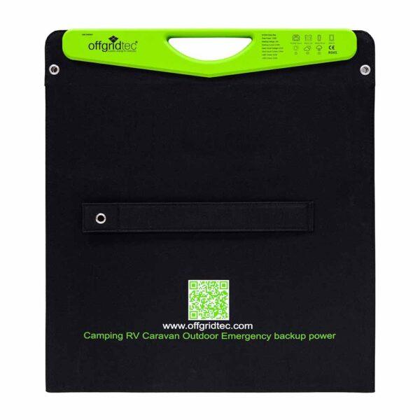 Solartasche mit USB-Anschlüssen Offgridtec