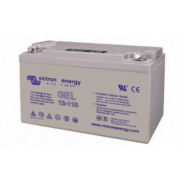 110 Ah Deep Cycle Gel-Batterie